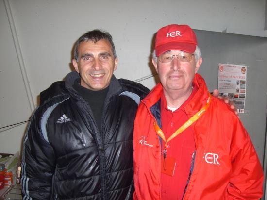 Didier Monczuk avec le webmaster
