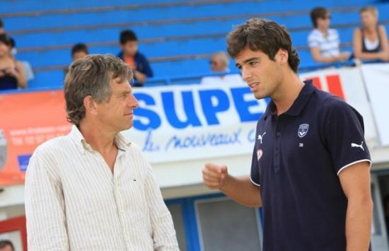 Christian l'ancien du FCR et Yoann Gourcuff son fils.