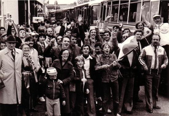 St Ouen la montée en D1-8/5/82