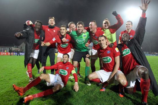 La joie-FCR-Ajaccio-Coupe de France 2013