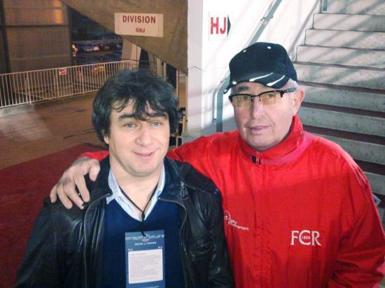 Yan Soloy et le webmaster